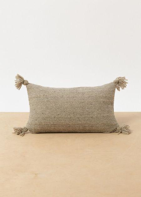 Territory Puro Pillow - Lumbar Grey