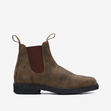Unisex Blundstone 1306 Dress Boot - Rustic Brown