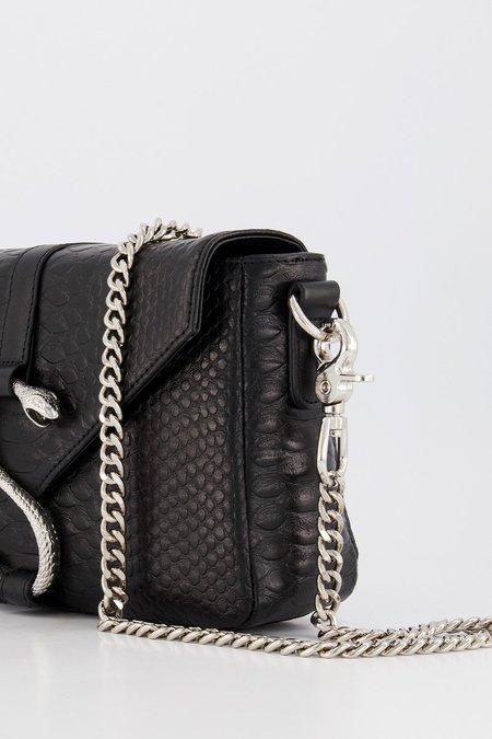 STOLEN GIRLFRIENDS CLUB Snake Hook Box Bag - black