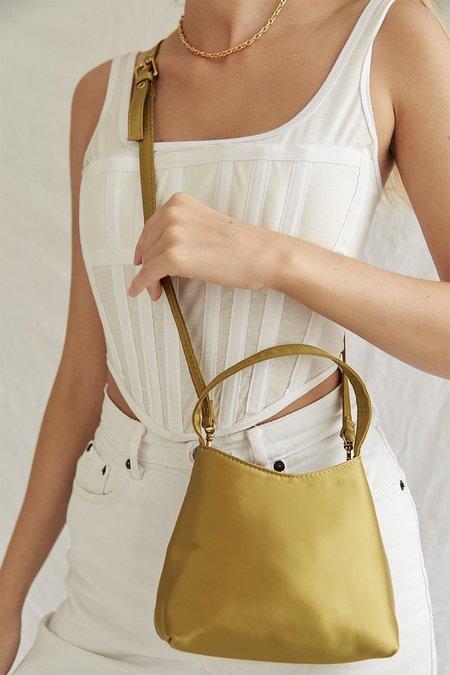 BRIE LEON The Mini Chloe bag - Matcha Satin