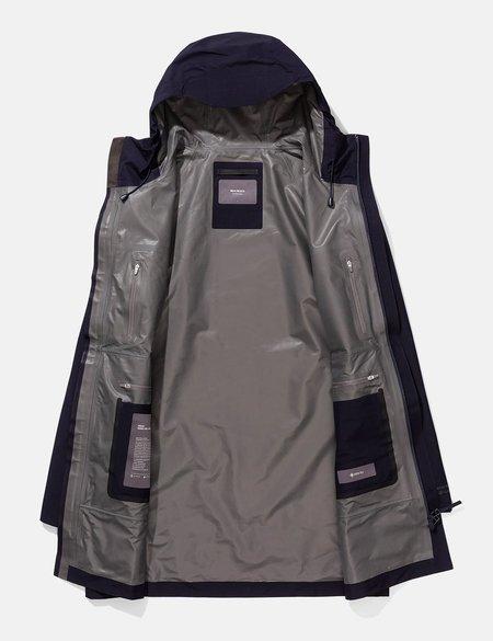 Norse Projects Bergen Shell Gore Tex 2.0 Jacket - Dark Navy Blue