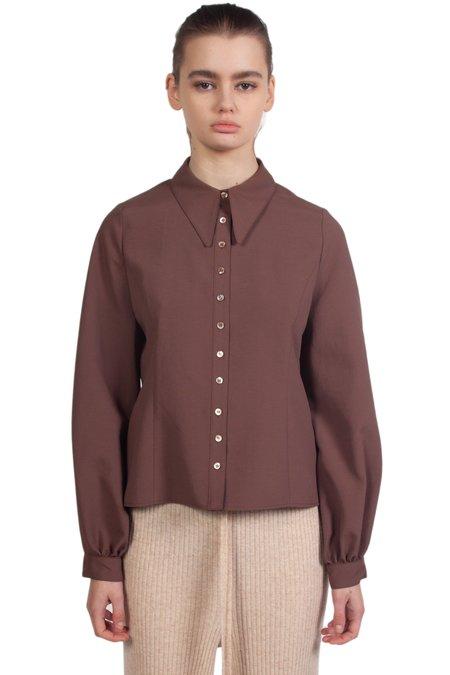 Kindersalmon Classic Shirt - Brown