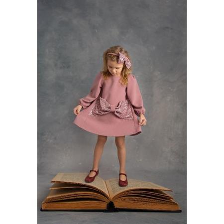KIDS piccola ludo venere paillettes dress - rosa