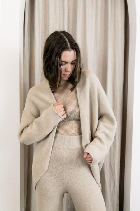 Lauren Manoogian Horizontal Cardigan - Antique