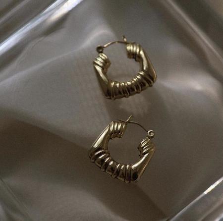 Lisbeth Jewelry Kate Earrings - 14k Gold / Sterling Silver