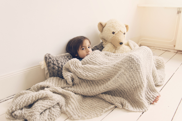 Zilalila Taupe Wieber Blanket - Dodo Les Bobos