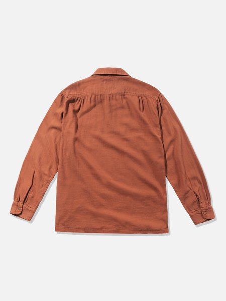 General Admission Flannel Shirt - Terracota