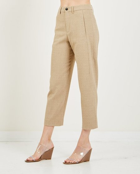 Closed Ludwig Cotton Pants - Clay