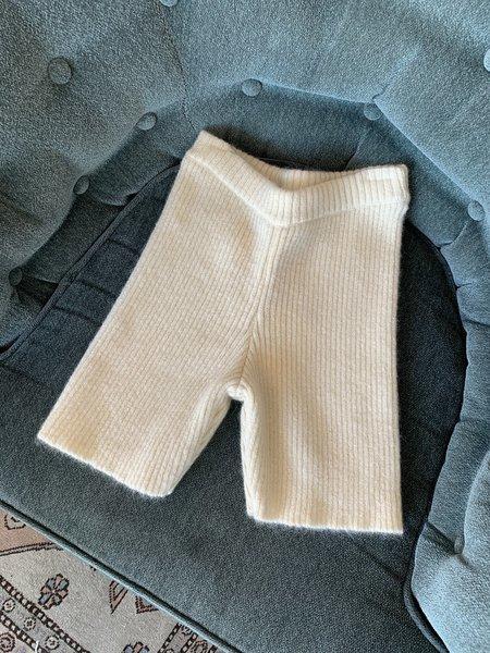 Greta Boldini Bel Air Shorts - Cream
