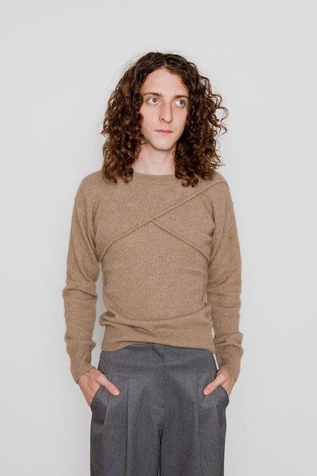 JOWA. berlin Racoon Knit Tank and Crop Knit Set - Brown