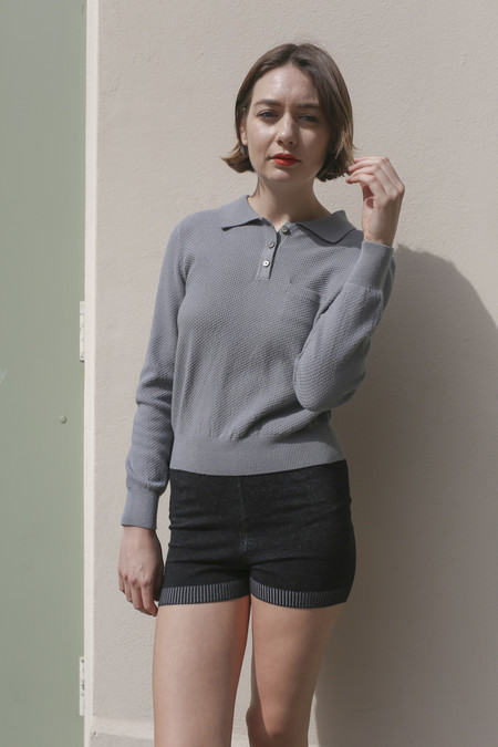 Woolly Bully High Waisted Short in Black