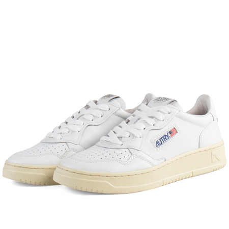 autry action autry 01 low shoes - White