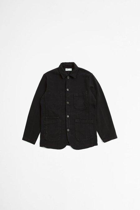 Universal Works Bakers jacket - trio twill black