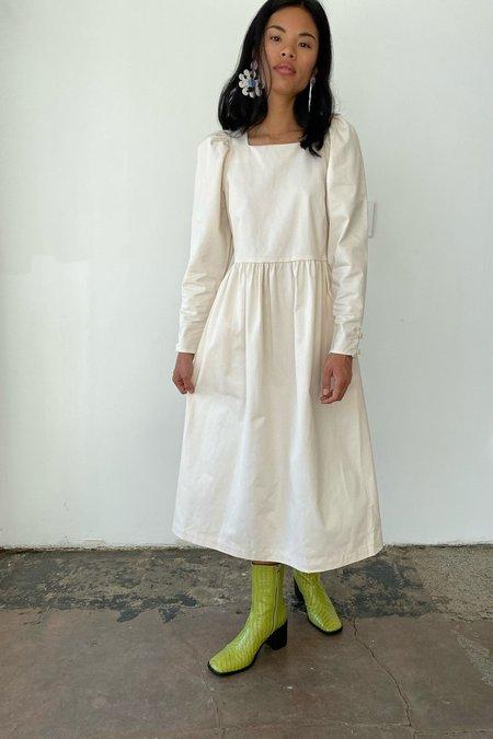 Lisa Says Gah Maddie Midi Dress - Pearl