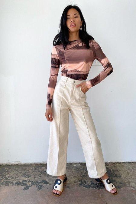 Lisa Says Gah Robyn Jean - Ivory Flannel