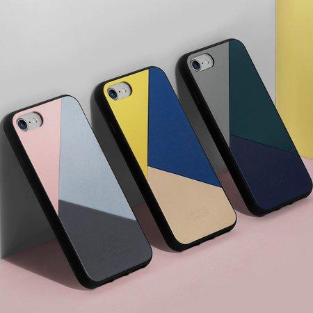 POKETO Native Union Clic Marquetry Genuine Leather IPhone Case