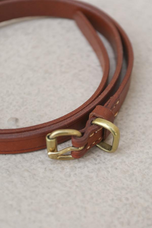 A Détacher Amelia Leather Belt in Natural