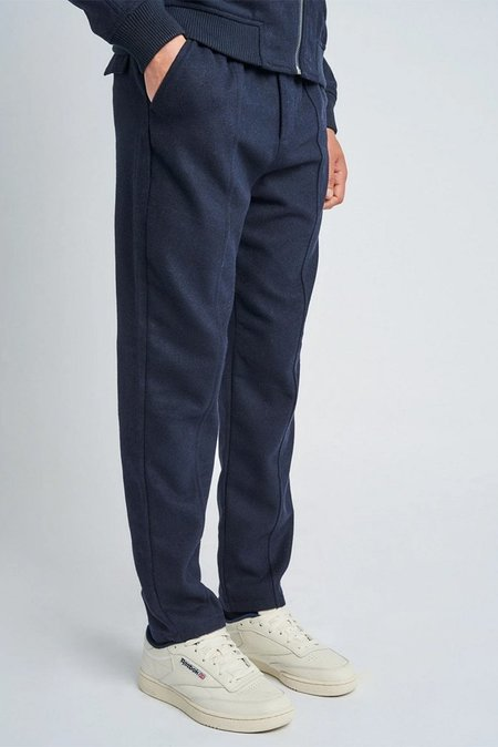 NATIVE YOUTH MENS NATIVE YOUTH LUTHER WOOL PANT - NAVY