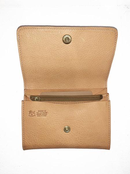 UNISEX Il Bisonte Cowhide Leather Wallet
