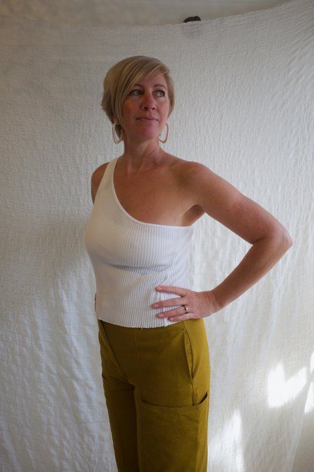 Lacausa Lia Tank - Whitewash