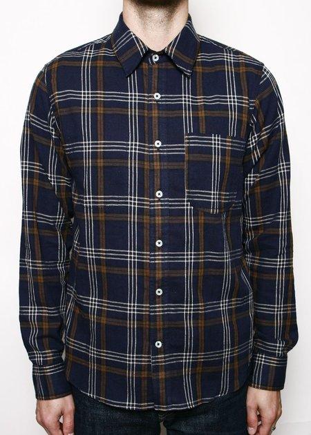 Rogue Territory Jumper Shirt - Navy Plaid