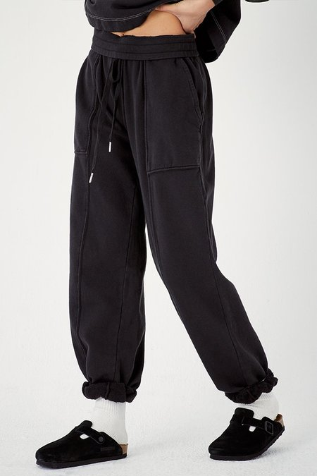 Back Beat Co. Recycled Cotton Adventure Jogger - Black