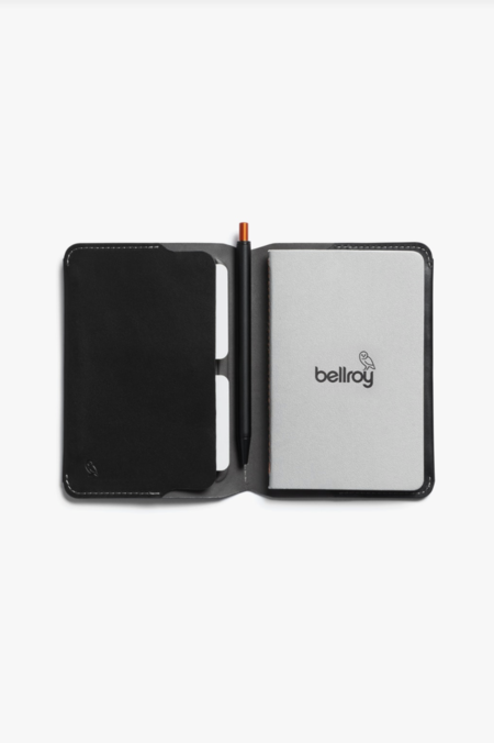 Bellroy notebook cover mini & pen - black
