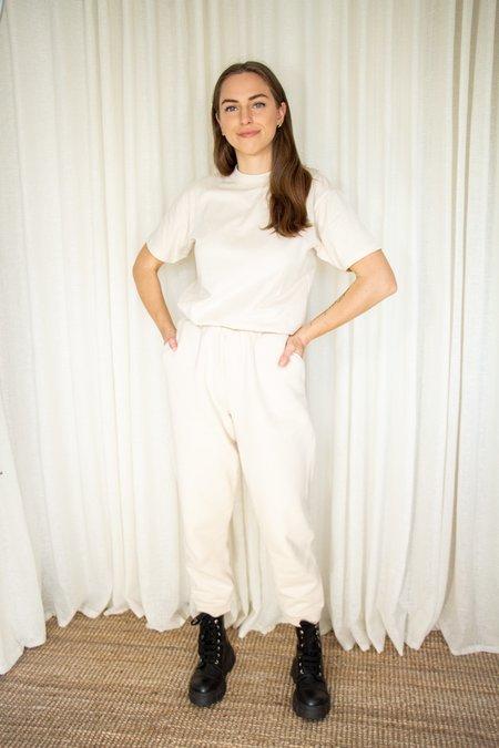 Unisex Rita Row Vela Organic Cotton Sweatpants - Beige