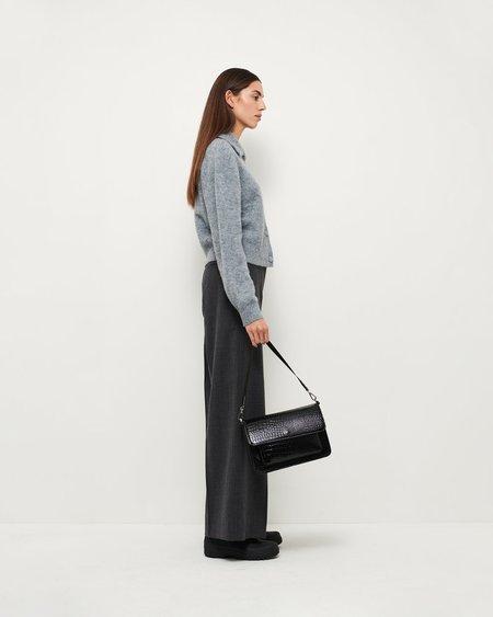 HVISK BASEL CROCO bag - BLACK