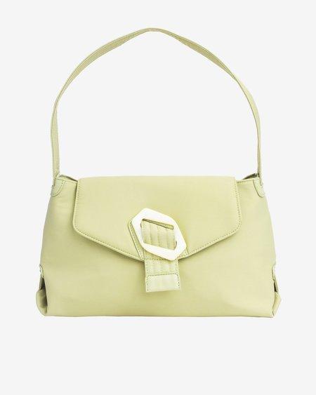 HVISK BILLOW NYLON bag - LIME GREEN