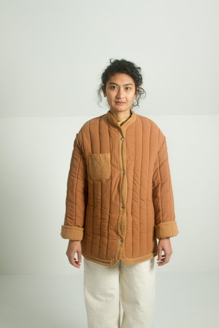 Kordal Sawyer Quilted Jacket - Clay