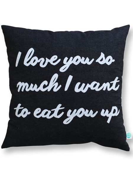 Natti Natti I Love You Pillow - Norman & Jules