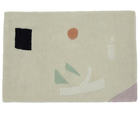 Cold Picnic Wanderers of the Desert Tufted Rug