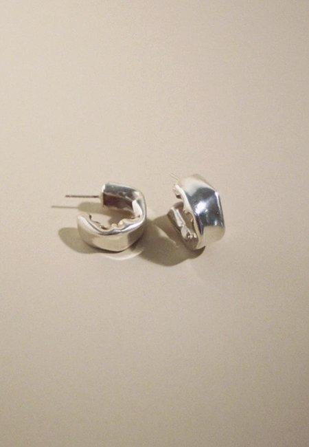 MARS Sur Hoops - Sterling Silver