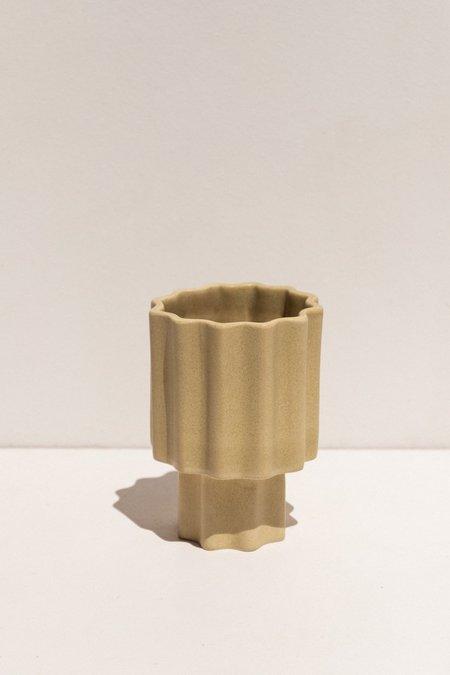 Ella Reweti Tapered Vase - Wheat