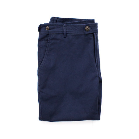 Corridor Twill Chino- Navy - Slim