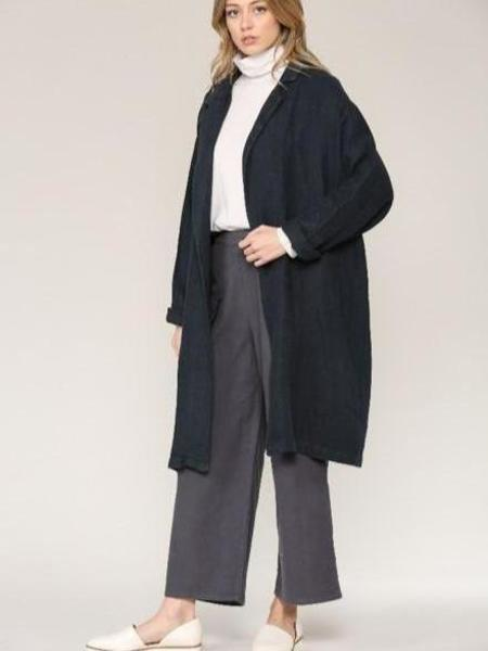 Filosofia Anna Duster Coat - Navy