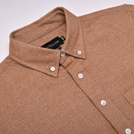 Outclass Tweed Flannel - Camel