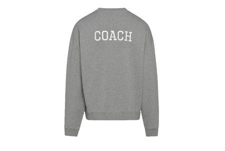 Diadora Coach Crewneck - Gray Melange