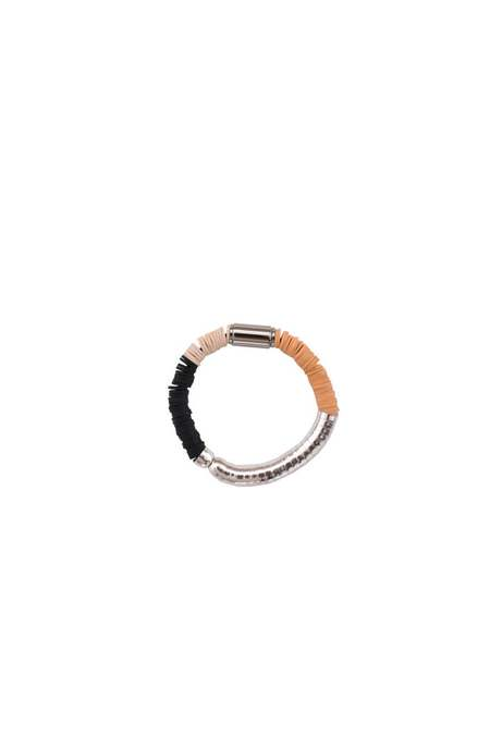 JULIE THÉVENOT chunky Isiand bracelet - silver