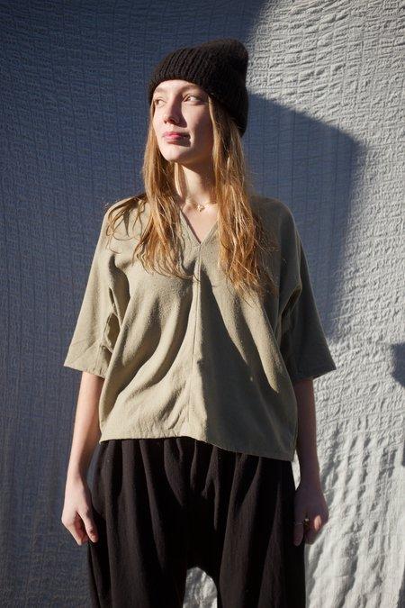 Miranda Bennett Muse Silk Noil Top - Florence