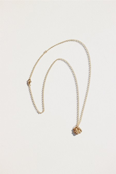 Swim To The Moon La Mer Necklace - 14k Gold plated