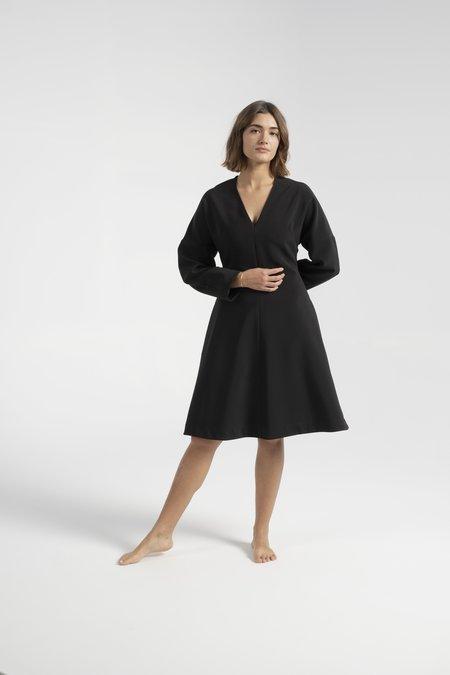 Nomia Dolman Sleeve Dress - Black