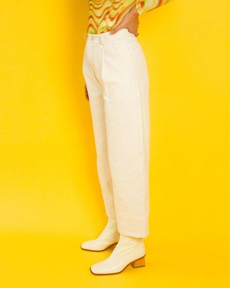 Kordal Quincy Work Pants - Ecru