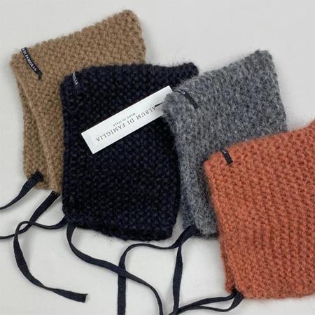 KIDS Album Di Famiglia Baby Chunky Knit Bonnet