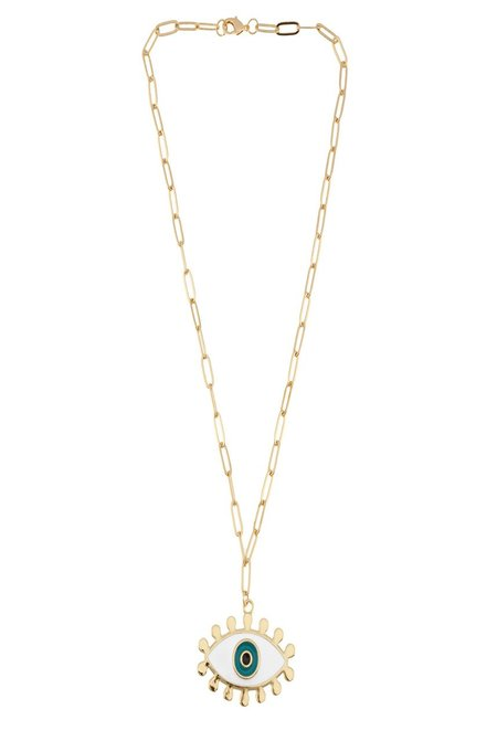 Talis Chains Eye Spy Necklace - 18 carat gold plating