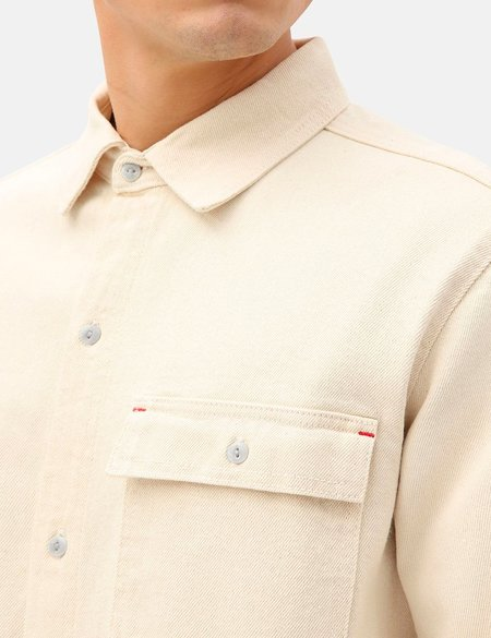 Dickies Paincourtville Denim Shirt - Ecru