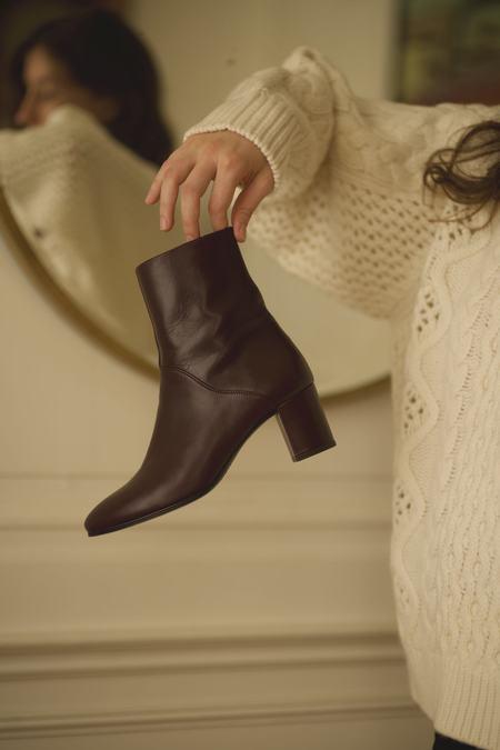 Anne Thomas Mimo Boots - Bordeaux