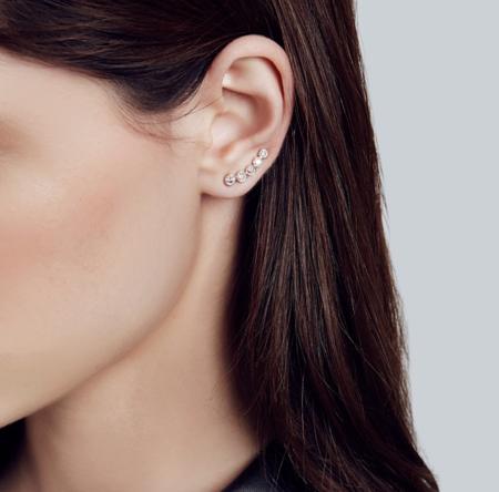 Carbon & Hyde Mini Cinderella Single Earring