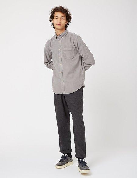 Portuguese Flannel Lobo Corduroy Shirt - Grey